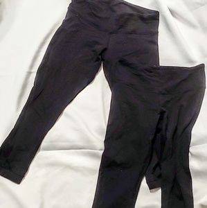 2 pairs of Lulu Lemon leggings size 2